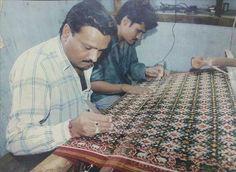 madhvi handicrafts  making of patan patola