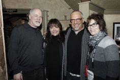Scott Holtzmsn with BMI's Doreen Ringer-Ross, Agent Seth Kaplan, and Producer Paula Silver at BMI's Annual Zoom Dinner.