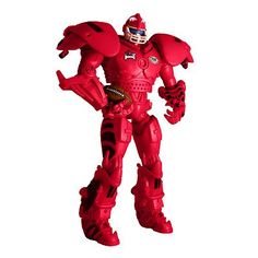 Arkansas Razorback cleatus the Fox Sports Robot Action figure