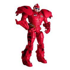 Arkansas Razorback cleatus the Fox Sports Robot Action figure