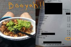 Chipotle Hacks to get more food for free