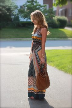 Maxi Dress, I would probably be too short