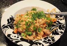 Chicken Thai Pasta