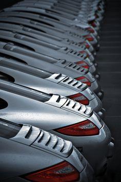 Porsche row #porsche