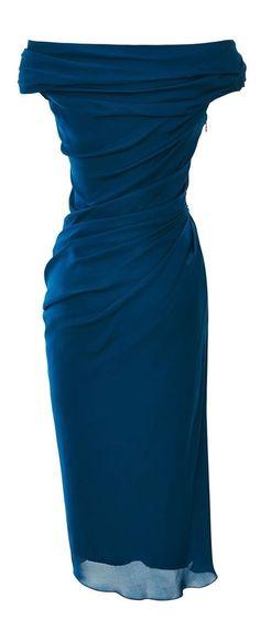 Silk Georgette Dress by Cushnie et Ochs