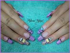Triangles, Nail Art, Nails, Beauty, Cute Nails, Short Nail Manicure, Nail Manicure, Beleza, Ongles