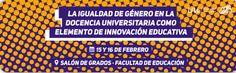 """Seminario """"La igualdad de género en la docencia universitaria como elemento de innovación educativa"""""""