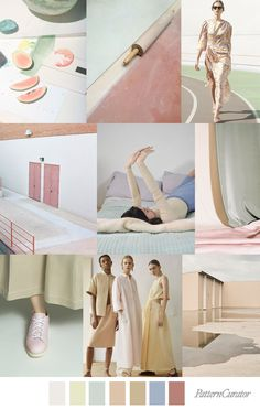 PASTEL NEUTRALS - color, print & pattern trend inspiration for SS 2020 . PASTEL NEUTRALS - color, print & pattern trend inspiration for SS 2020 by Pattern Curator. Pattern Curator is a trend service for color, print and pattern inspiration. Pantone, Trend Fashion, 2020 Fashion Trends, Fashion 2018, Fashion Ideas, Fashion Dresses, Fashion Colours, Colorful Fashion, Pinterest Trends