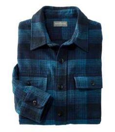 Men's Signature 1933 Chamois Cloth Shirt, Slim Fit, Plaid Best Flannel Shirts, Lined Flannel Shirt, Mens Flannel Shirt, Casual Shirts, Casual Outfits, Men Casual, Mens Clothing Styles, Men's Clothing