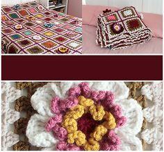 Ravelry: craftyminx's Gran's Garden Blanket