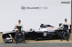 #F1 #Williams #FW35 #WilliamsFW35 #F12013 #F1CarLaunch #F1PARK