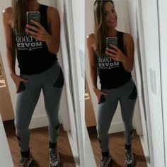 Quando nossas clientes nos matam de carinho  . A linda Viviane divando de Movimento&cia!  . Legging Pocket e Regatinha New Edition a campeã de vendas.! . __________________________________________________ Nossos canais de compra: .  http://ift.tt/1PcILpP Whatsapp: 41 99144-4587  Loja virtual no face: Acesse missfitbrasilhf  USA Store: www.fitzee.biz. .  Worldwide shipping  Parcele em até 4x sem juros via Pagseguro  10% off para pagamento via depósito ou transferência. .  Frete grátis para…