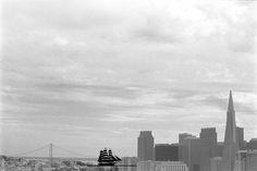 Sandra Vitaljić, People and Places, San Francisco Skyline, Croatia, Contemporary Art, Places, People, Travel, Viajes, Trips, People Illustration
