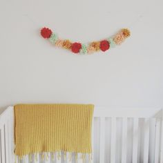 it's the little things: pom pom garland