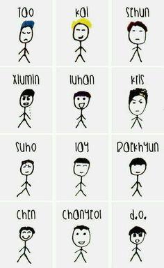 Kris' drawings XD