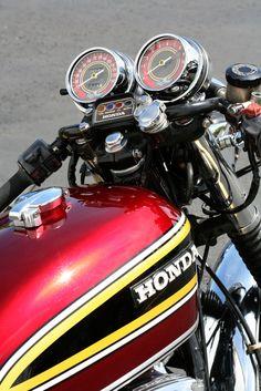 Honda Bikes, Honda Cb750, Honda Motorcycles, Custom Motorcycles, Retro Motorcycle, Cafe Racer Motorcycle, Triumph Bonneville, Street Tracker, Cb750 Cafe Racer