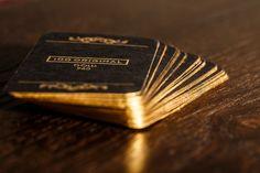 Business cards - 100% Gold 960 . by 100 ORIGINAL , via Behance