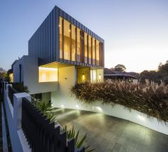 Zouk Architects have designed the Box House in Sydney, Australia