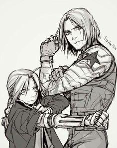 Long hair metal arm squad