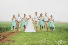 Midlands Wedding, Turquoise and green wedding decor , bow tie and braces
