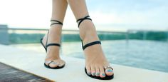HiGH FEELS — beautiful barefoot shoes (flat sandals) by Yamina und Daniel — Kickstarter