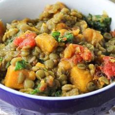 Healing Lifestyles & Spas - Lentil And Sweet Potato Curry