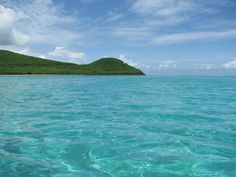 Looking East from Great Pond Bay, St. Croix USVI