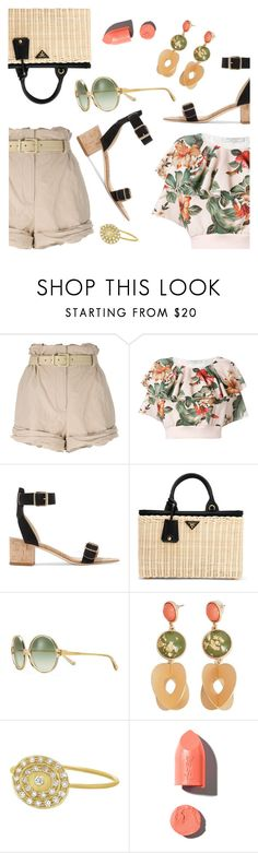 """""""Outfit of the Day"""" by dressedbyrose ❤ liked on Polyvore featuring Moschino, Philosophy di Lorenzo Serafini, All Tomorrow's Parties, Prada, Tory Burch, MANGO, Celine Daoust, PUR, ootd and polyvoreeditorial"""