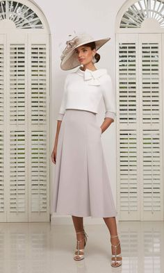 Veni Infantino From Fab Frocks Mother Of Bride Outfits, Mother Of The Bride, Outfit Chic, Dress And Jacket Set, Elegantes Outfit, Groom Outfit, Mid Length Dresses, Day Dresses, Bride Dresses