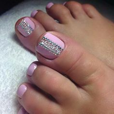 Super Ideas For Pedicure Designs Nailart Toe Pretty Toe Nails, Cute Toe Nails, Fancy Nails, Gel Toe Nails, Pretty Pedicures, Diy Nails, Pedicure Nail Art, Toe Nail Art, Nagellack Design