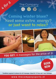 The Company Winter Massage Promo