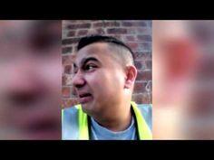 Cikán v práci brečí že musí makat - YouTube
