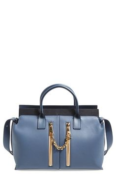 Shop now: Medium Cate Leather Satchel