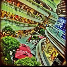 Great Architecture of Kanyon Shopping Mall Istanbul Turkey