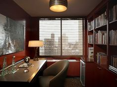 people which bring jobs to the home office ? May be this home office interior is one solution for you which want. Small Space Living, Small Spaces, Living Spaces, Home Office Space, Home Office Decor, Home Decor, Office Spaces, Office Ideas, Office Interior Design