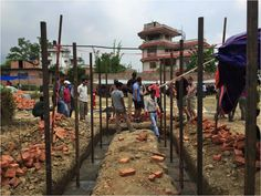 Disaster Relief Project in Nepal // NGO Projects Abroad set up a disaster relief project to provide aid to those affected by the earthquakes that devastated Nepal. Chameleon, Nepal, Spotlight, Cape, Projects, Mantle, Log Projects, Cabo, Blue Prints