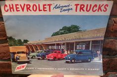 1953 Chevrolet Truck Brochure Pickup Panel Stake Sedan Delivery Suburban, Vintage Chevy Advertisement by Morethebuckles on Etsy