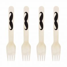 Mustache Fork DIY Kit