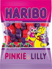 Haribo Pinkie & Lilly OWLS -Owls with marshmallow with cassis and raspberry flavor from GERMANY - New for New for 2016 Made in Germany Ships from NV No artificial coloring or dyes Candy Recipes, Gourmet Recipes, Fini Tubes, Haribo Sweets, Haribo Candy, Food Goals, Dessert Drinks, Gummy Bears, Baby Shower Favors