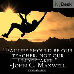 John C. Maxwell ~  For many, they allow it to undertake them... it's sad.