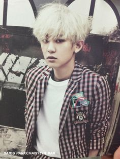 Chanyeol - 150603 'Love Me Right' album contents photo Credit: Yo Chanyeol.