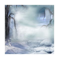 magicr_PeacefulWinter_P8.jpg ❤ liked on Polyvore featuring backgrounds, winter, snow, winter backgrounds, art and filler