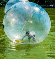물 위를 걷는 신나는 놀이