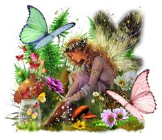 An art collage from February 2015 Butterfly Fairy, February 2015, Collage Art, Polyvore, Plants, Plant, Planets