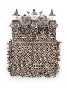 Peacock Kavacha Pendant
