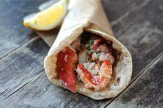 Flatbread Lobster Roll