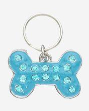 Blue Gem Studded Pet Charm