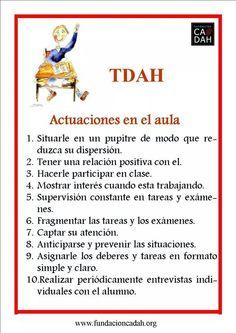 TDAH -Cómo actuar en el aula?