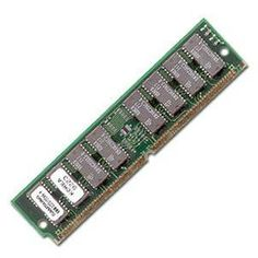 RAM: memory modules on the motherboard containing microchips used to temporarily hold data and programs while the CPU processes both