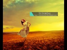 Photoshop Photo Manipulation Tutorial - Lady Dancer - YouTube